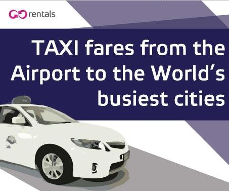Taxi Fares From The Airport To The World's Busiest Cities Main