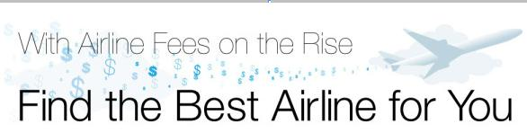 Find the Best Airline Fees Main