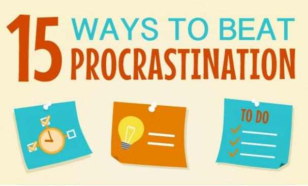 15 Ways to Beat Procrastination Main