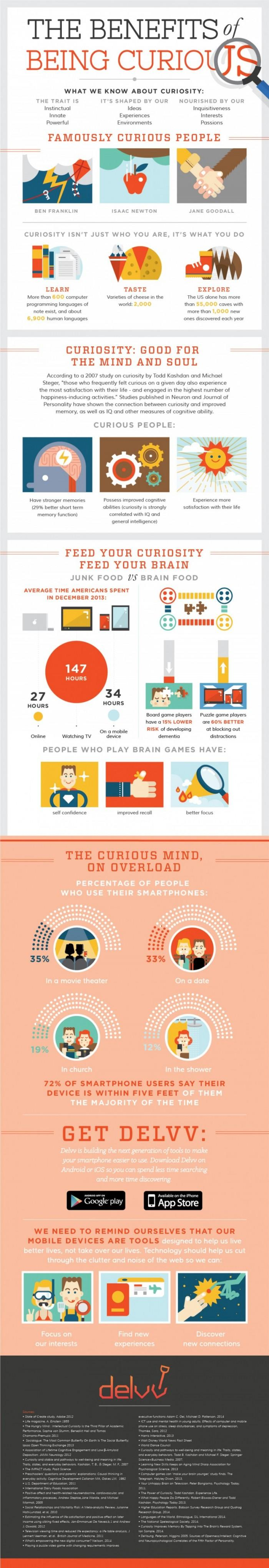 The Benefits Of Being Curious