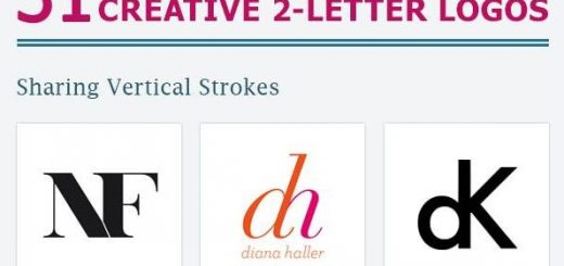 Personal Branding With Two Letter Logo Designs